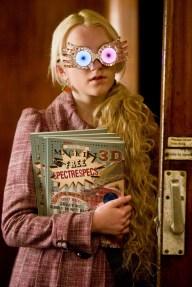 Evanna Lynch as Luna Lovegood