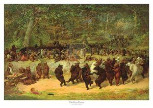 The Bear Dance, c.1870 by William Holbrook Beard